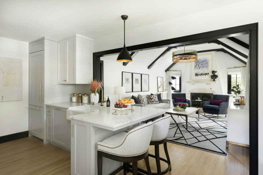 White Kitchen Interior Design Remodel