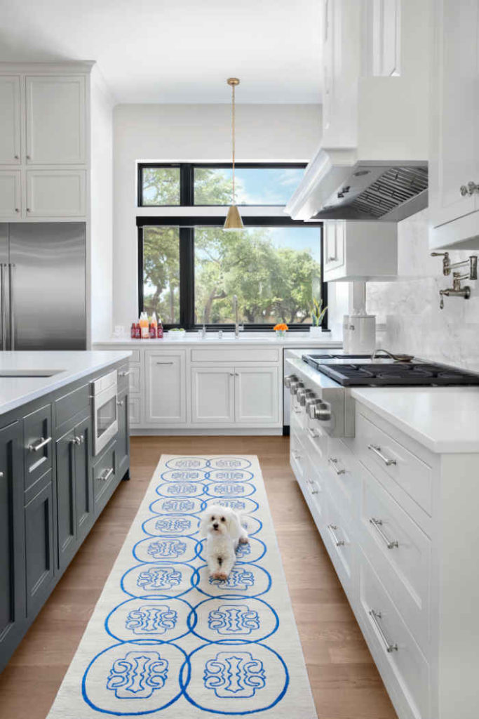 White Kitchen With Colorful Accents 3
