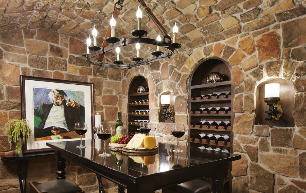 Wine Cellar Design Lake Vermillion