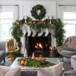 Marthaoharainteriors Christmaslivingroomdecor Fireplace