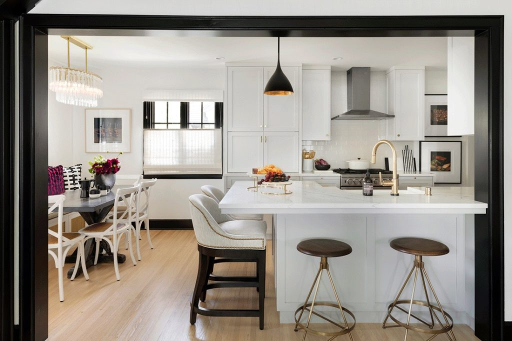 Blackandwhitekitcheninteriordesignrenovation Marthaoharainteriors