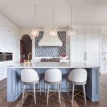 Blueandneutralkitchenisland Interiordesign Marthaoharainteriors