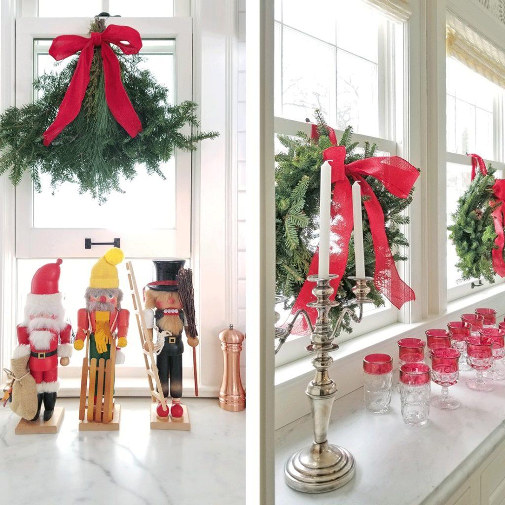 Christmasnutcrackersanddishes Marthaoharainteriors