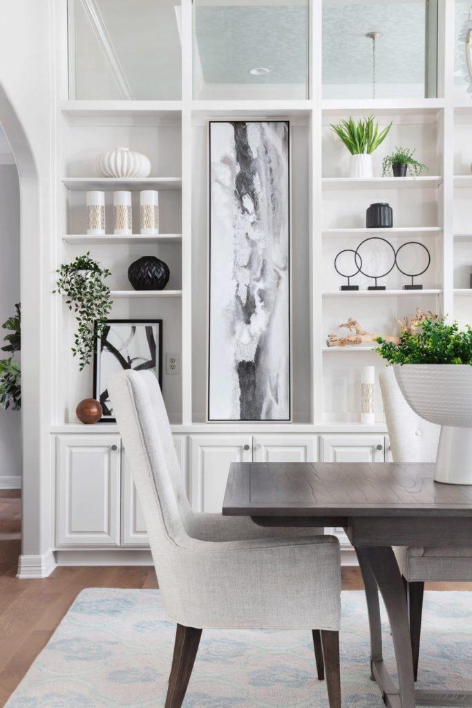 Diningroombookshelves Interiordesign Marthaoharainteriors