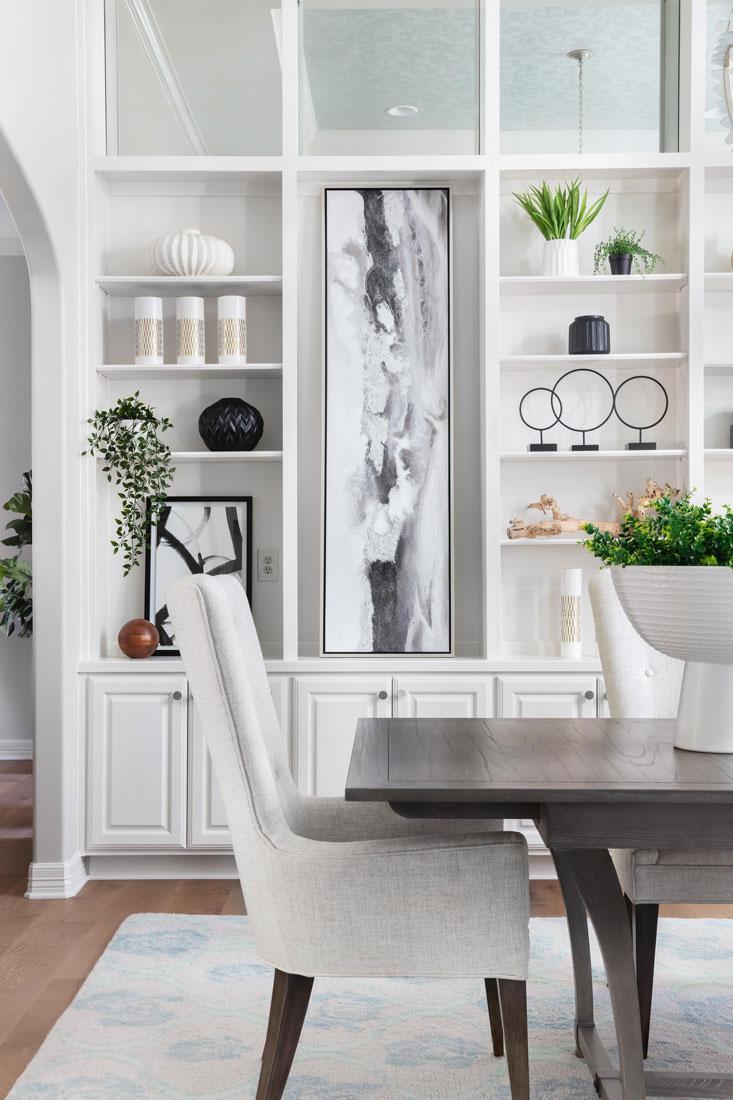Treemont Austin Texas Dining Room Design Vignette