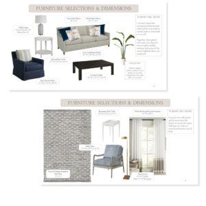 Virtual Design Additional Selections