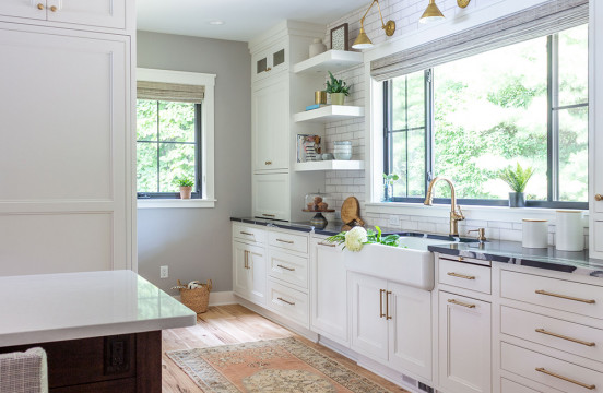 Before & After: Lake Home Kitchen Remodel