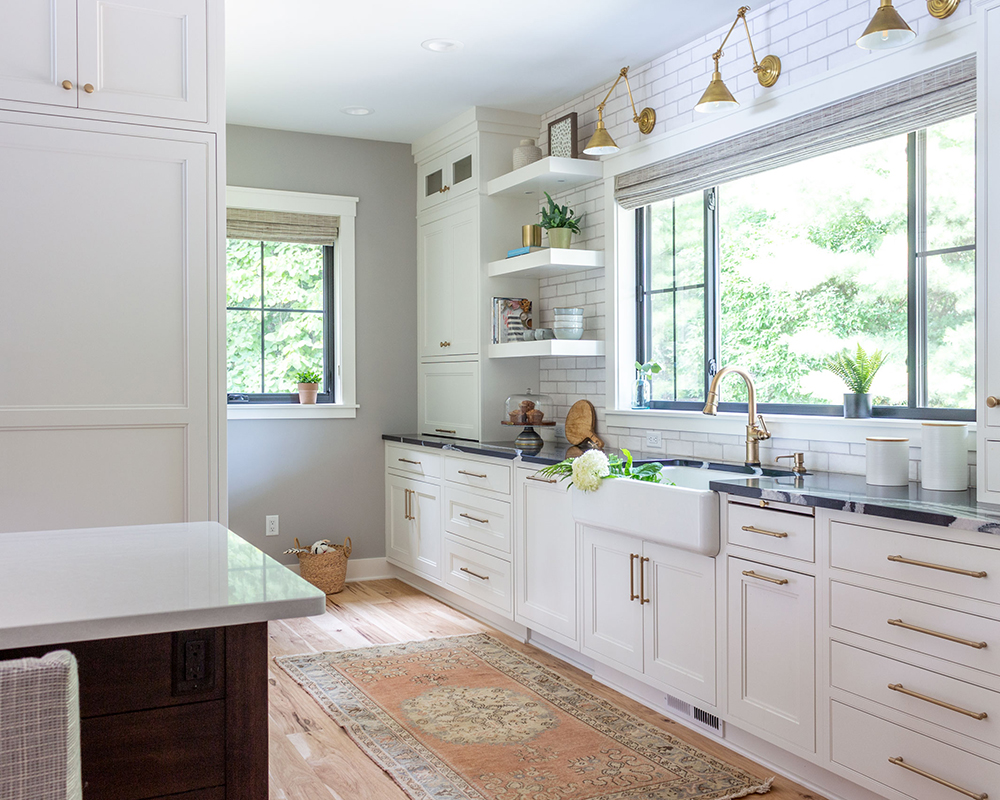 Before After Lake Home Kitchen Remodel Martha O Hara Interiors