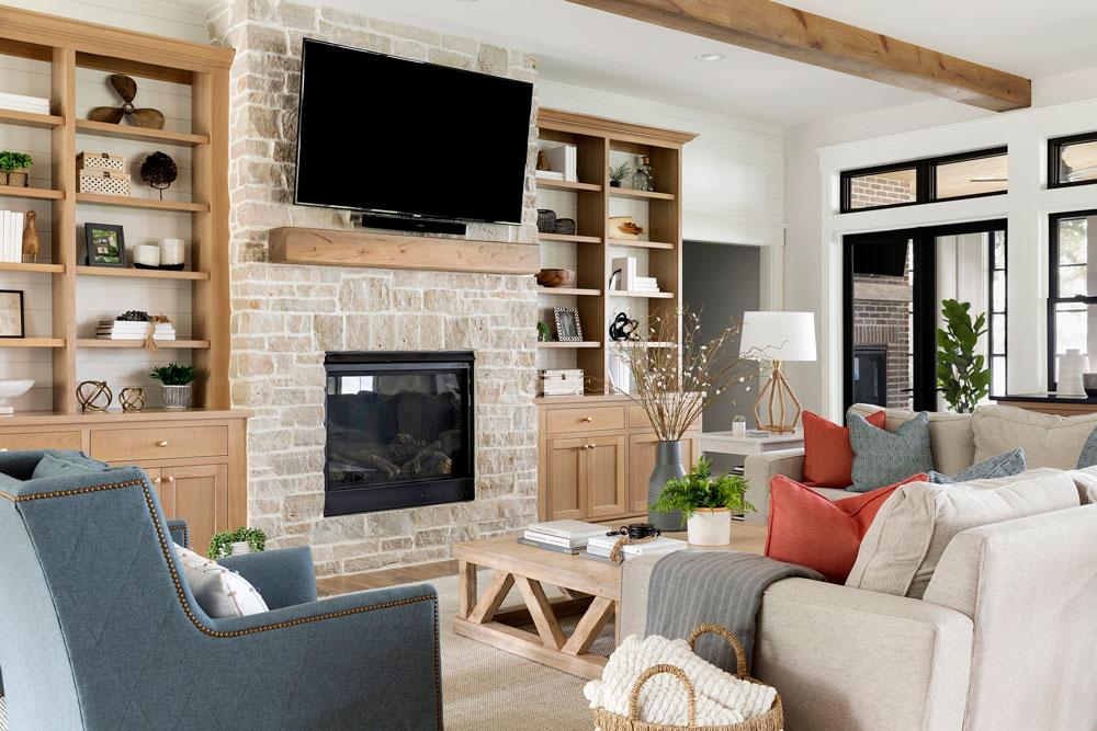 12 Sugar Lake Summer Home Living Room Angle