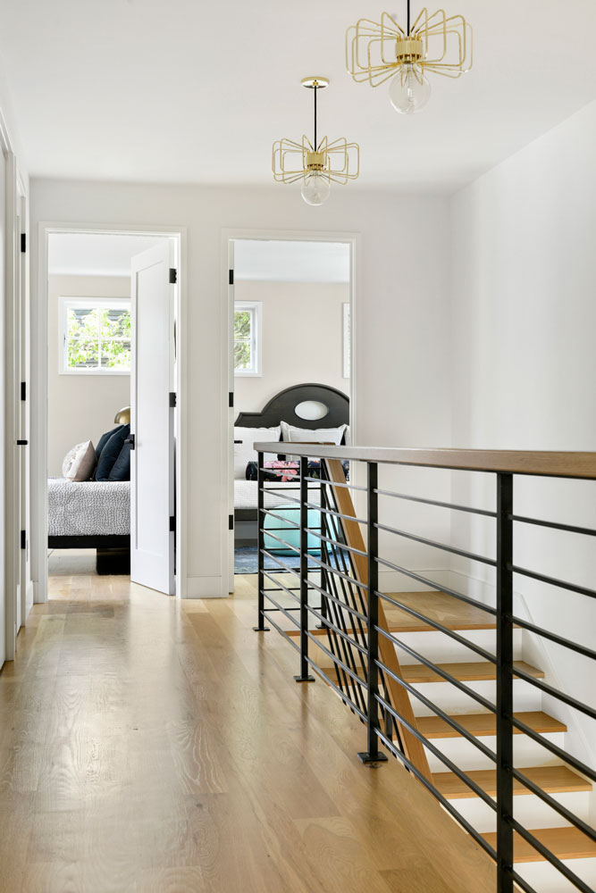 13 Uptown Modern Colonial Stairway