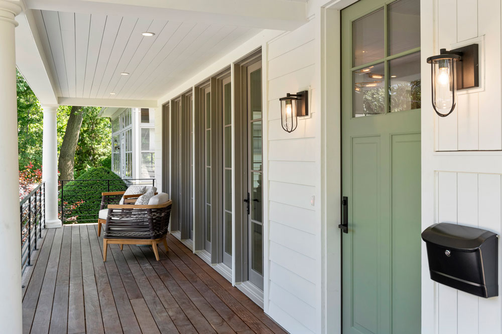 1 Uptown Modern Colonial Front Porch