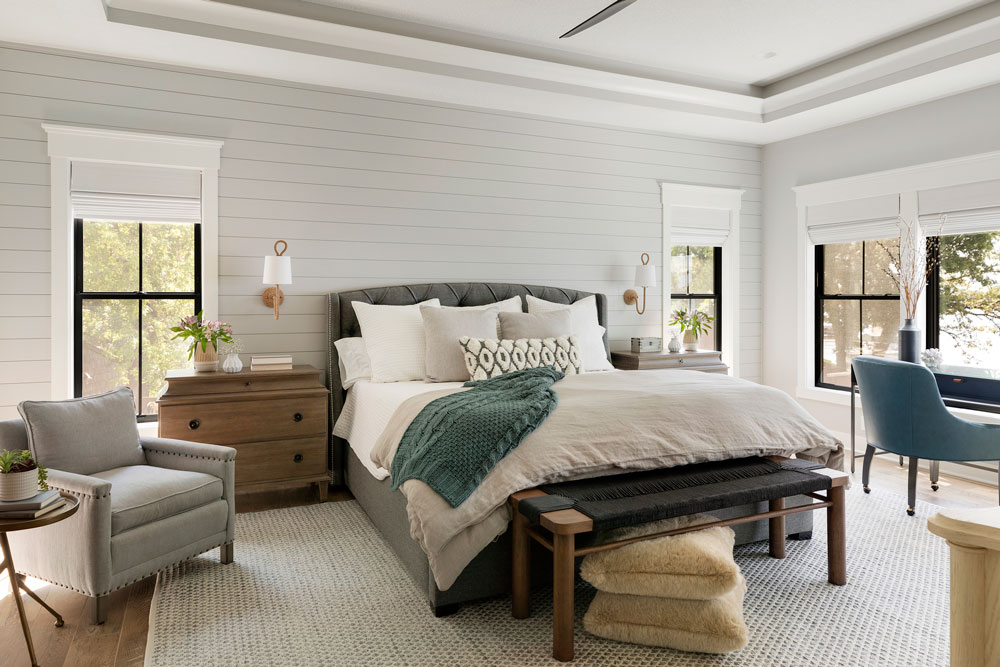 24 Sugar Lake Summer Home Master Bedroom