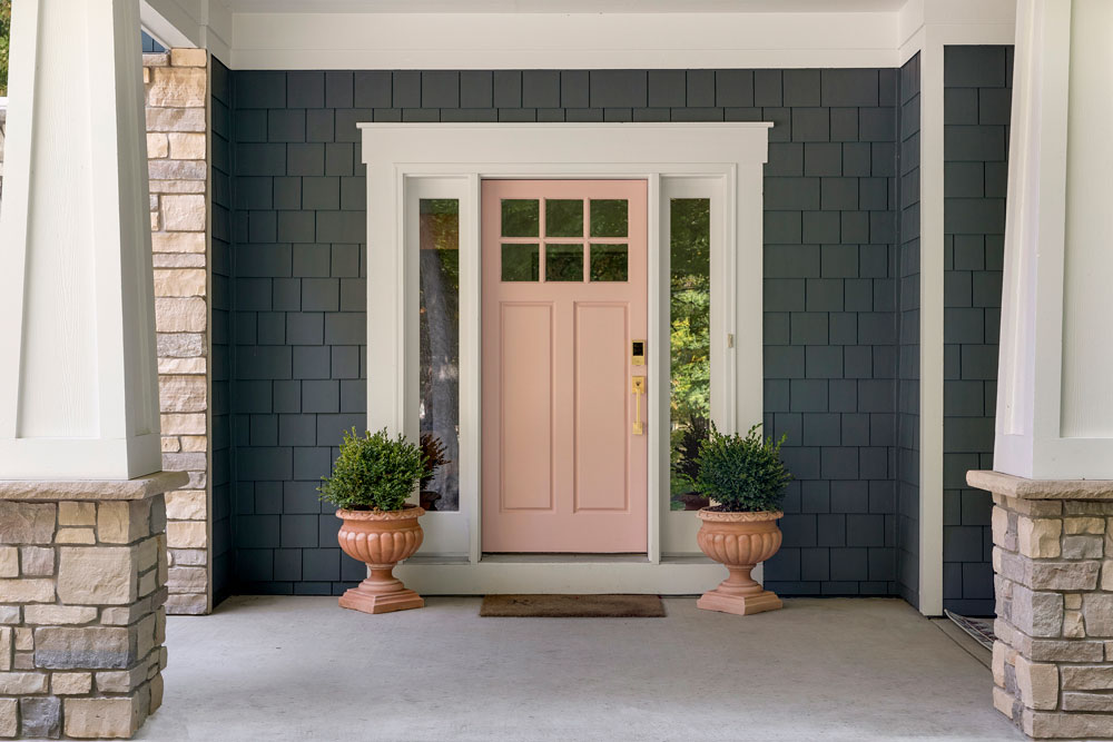 1 Boho Bungalow Remodel Front Door