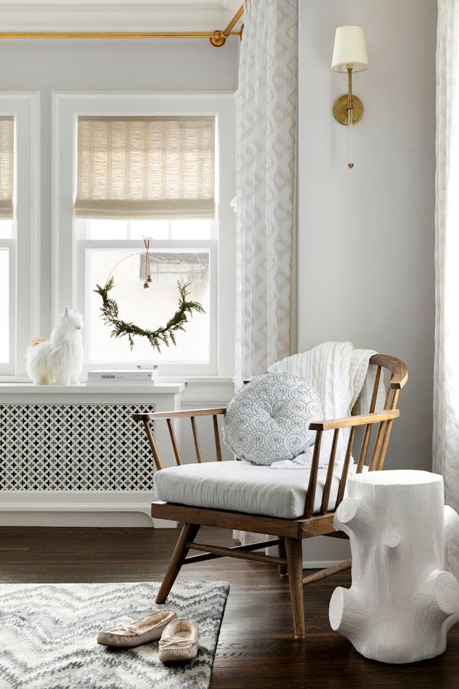 1 Festive Holiday Season Bedroom Detail