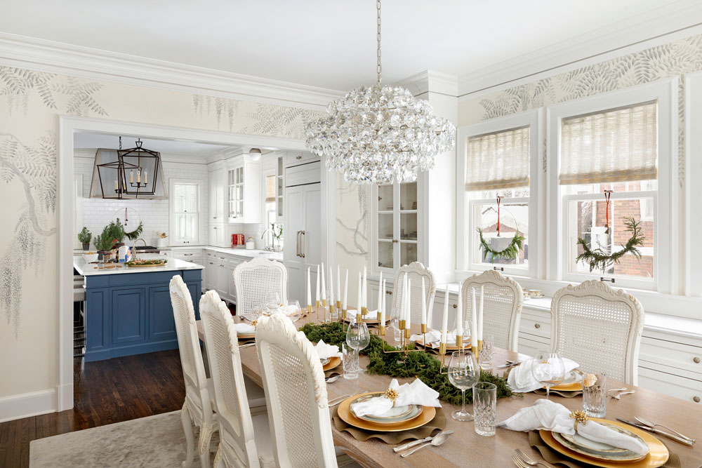 13 Home For The Holidays Dining Room To Kitchen