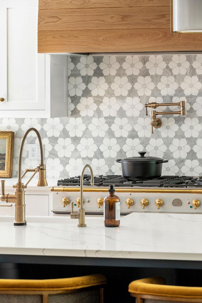 17 Boho Bungalow Remodel Kitchen Closeup