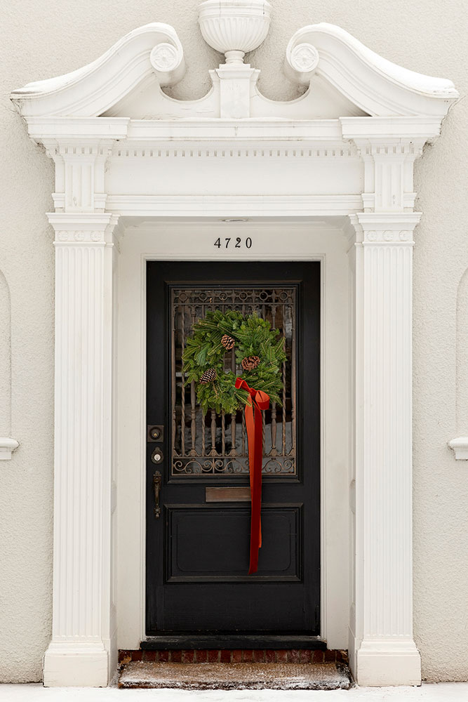 19 Home For The Holidays Front Door