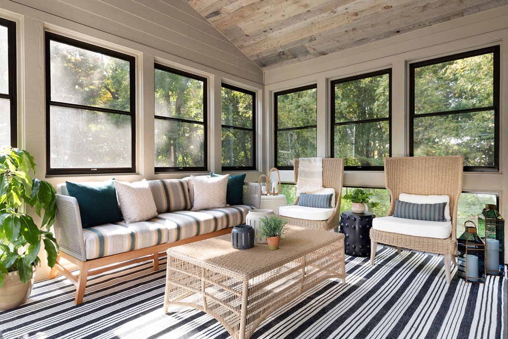 22 Boho Bungalow Remodel Porch Full