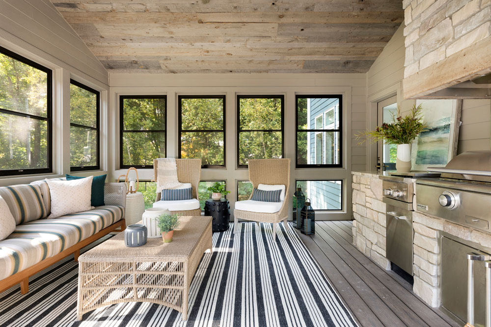 23 Boho Bungalow Remodel Porch Straight