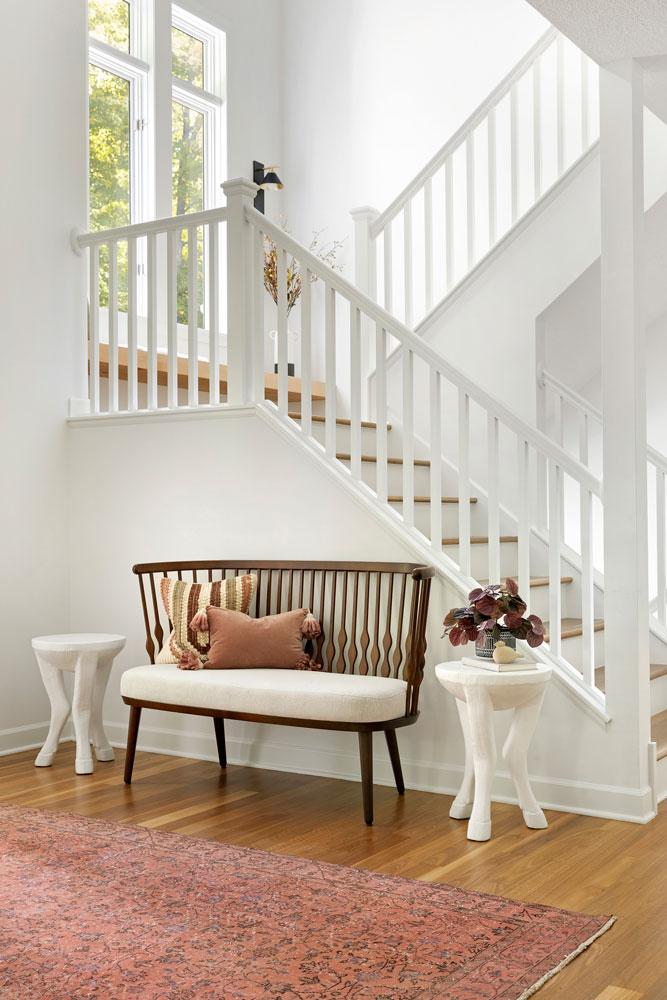 3 Boho Bungalow Remodel Stairway