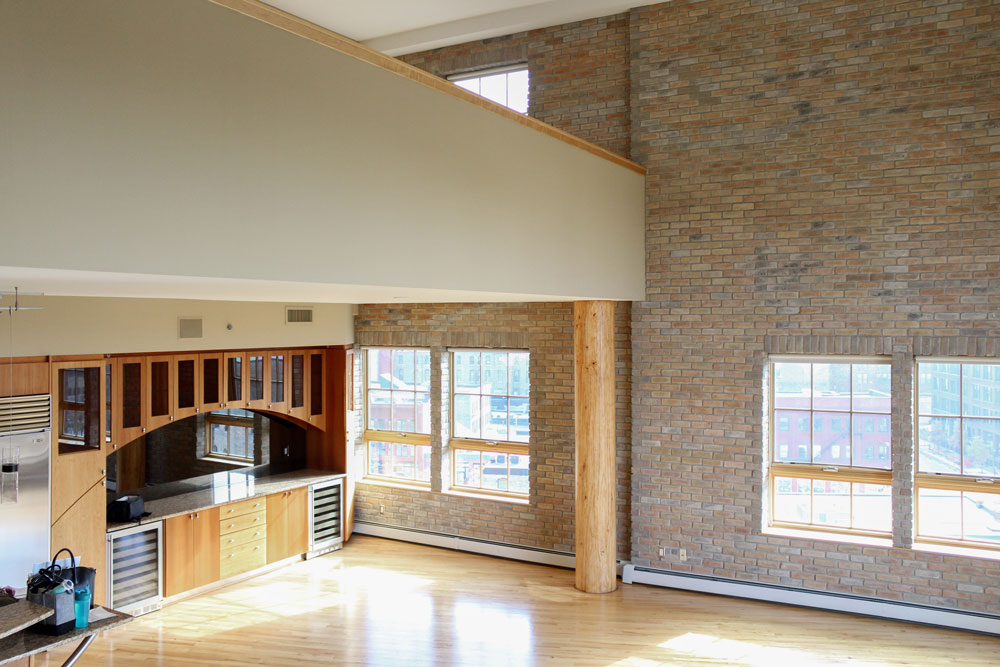 Downtown Loft Remodel Before Overview