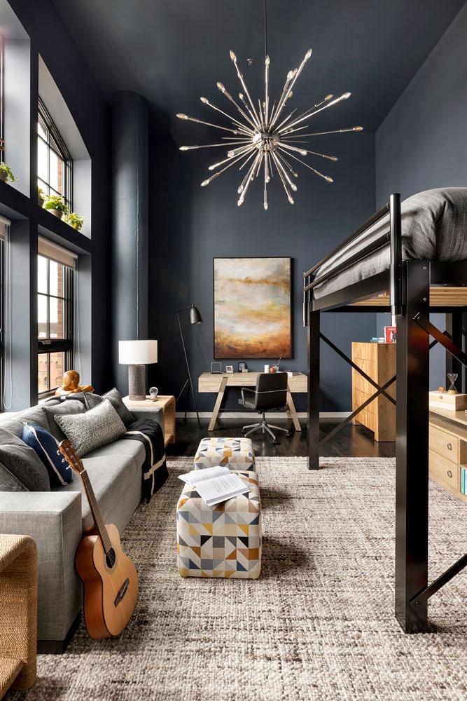 Downtown Loft Remodel Boys Room