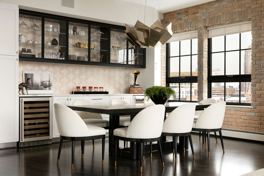 Downtown Loft Remodel Dining
