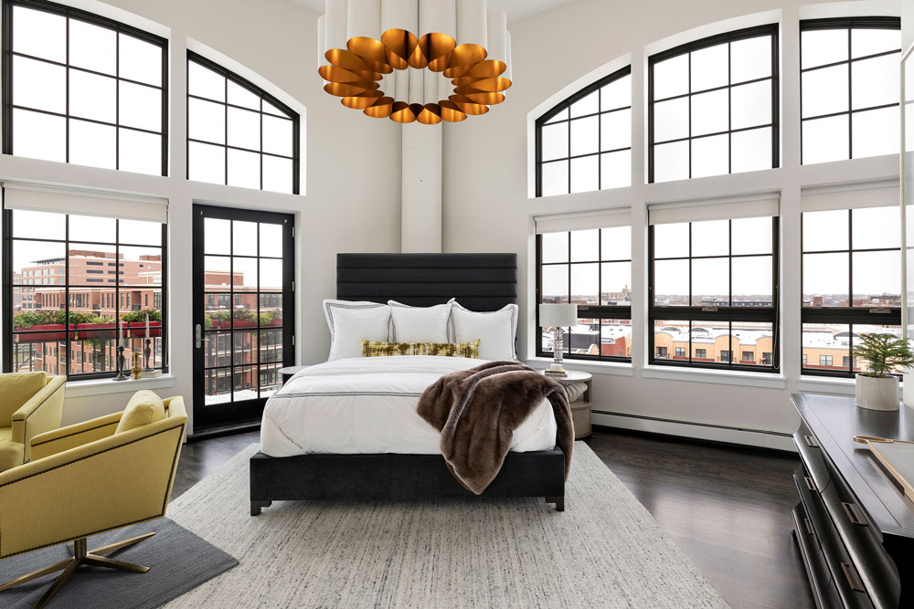 Downtown Loft Remodel Master Bedroom