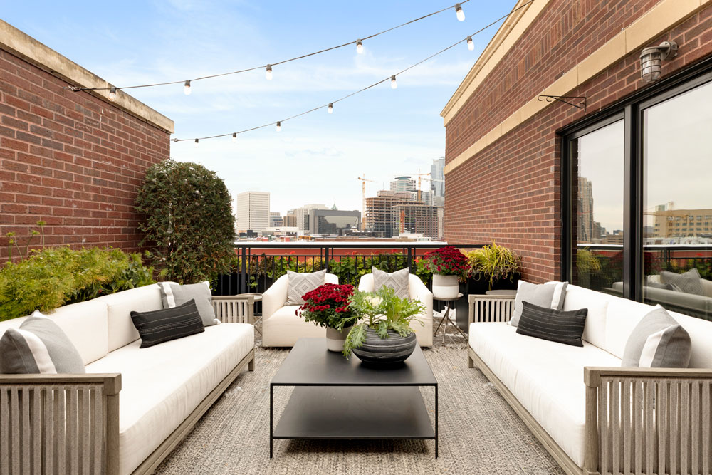 Downtown Loft Remodel Outdoor Living