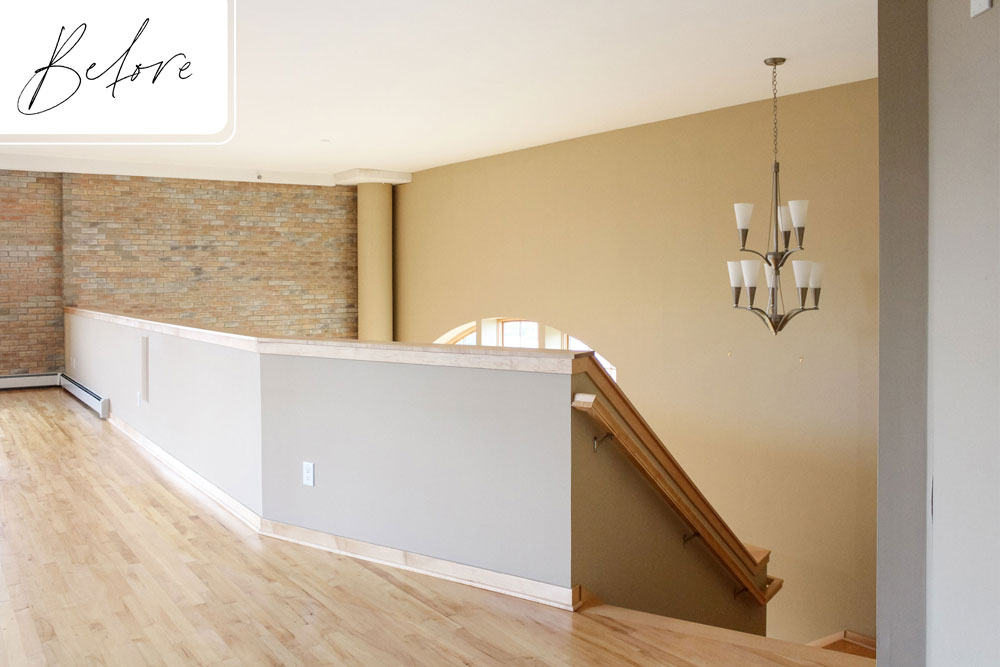 F Downtown Loft Remodel Before Lofted Living