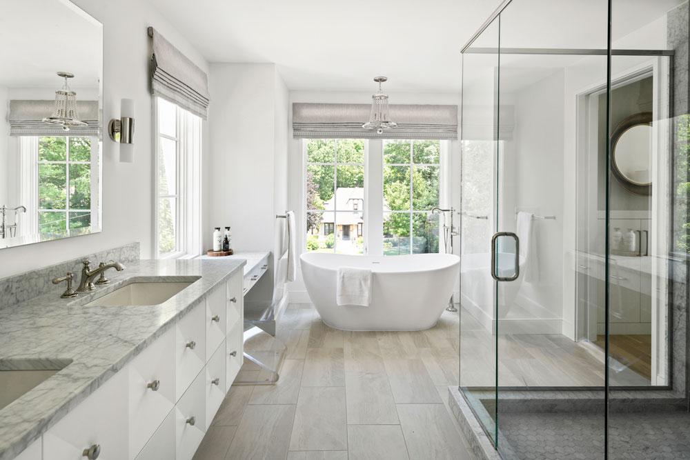 7 Modern Family Home Master Bathroom 1