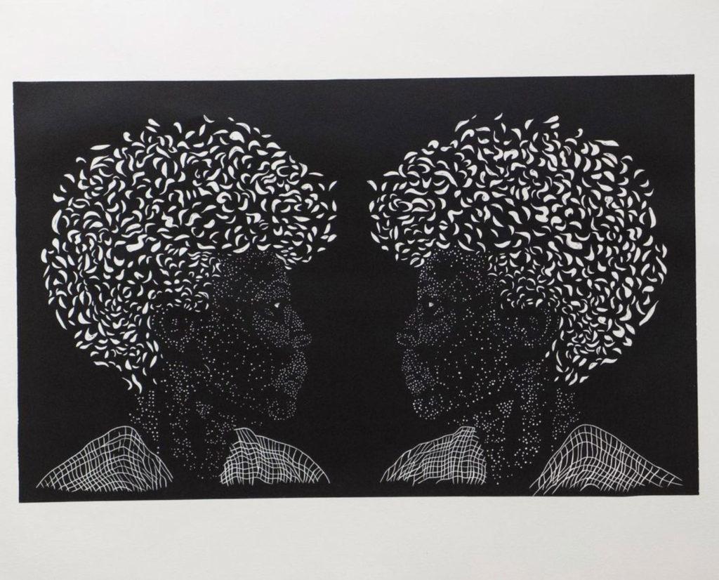 Karen J. Revis Block Print