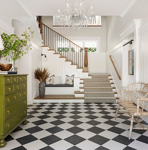 Excelsior Waterfront Home Luxe Red Awards First Place Classic Interior Design